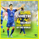Sunil Chhetri – The King of Indian Football