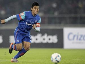 baichung bhutia - the wonder boy of indian football team by kreedon